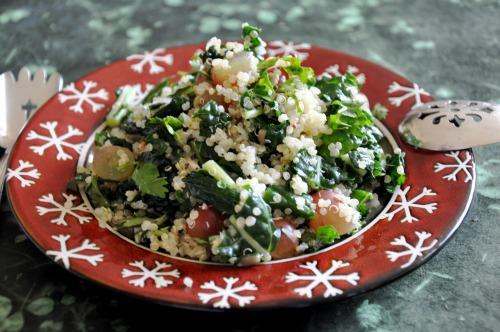 Kale & Quinoa Salad & Having Faith In a Crisis