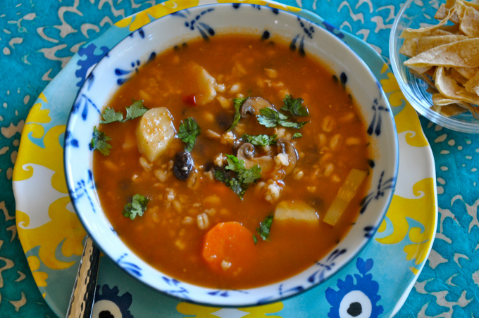 Most Contaminated Produce List & Spicy Mexicali Soup