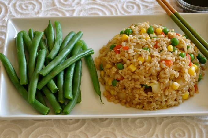 Cauliflower Fried Rice & The True Meaning of Love