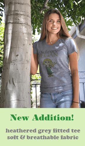Ordinary Vegan Gray T shirt