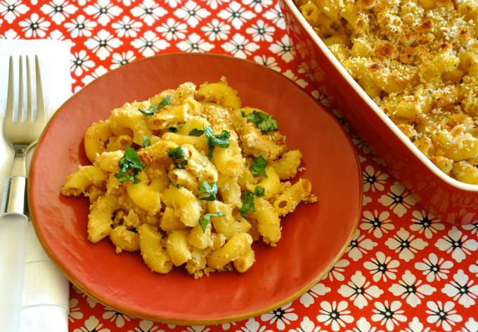 Vegan Mac and Cheese with Cauliflower Béchamel