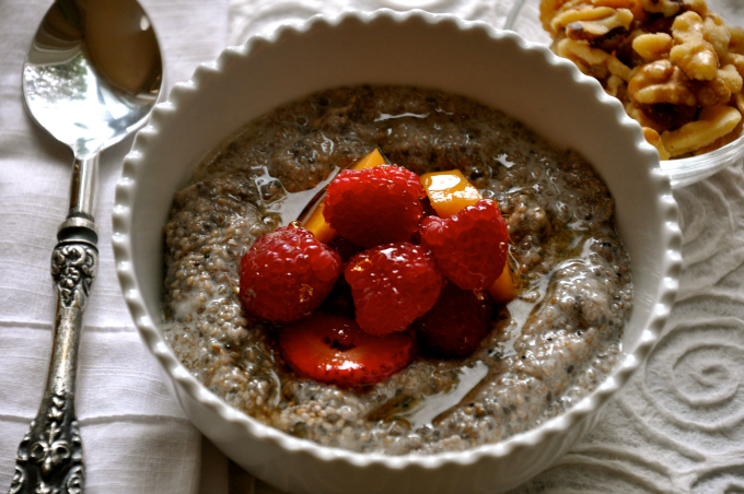 Chia Seed Plant-Powered Breakfast