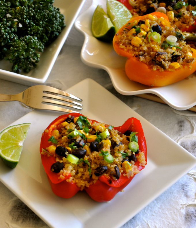 Healthy Recipe – Southwestern Stuffed Peppers