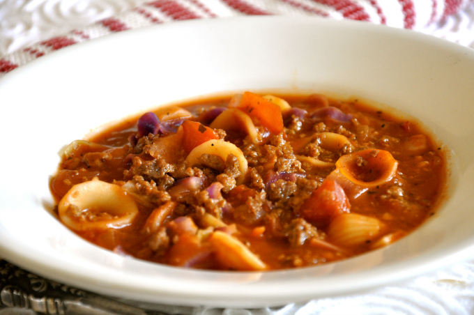 Cabbage Roll Soup & Eating For The Environment