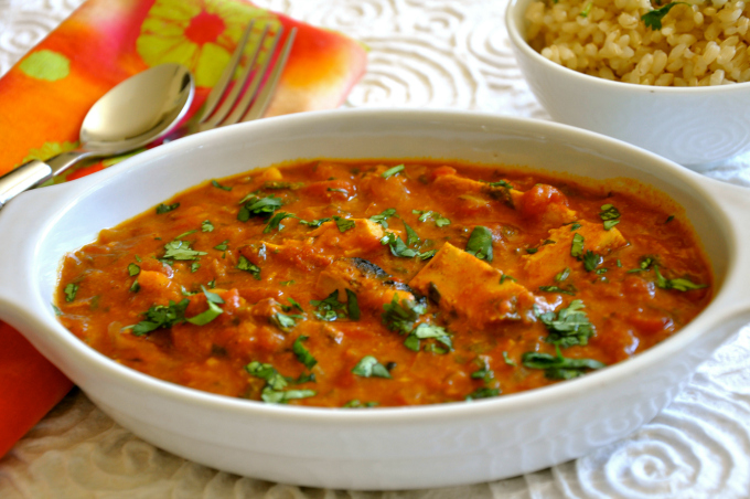 Vegan Chicken Tika Masala