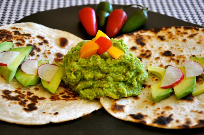 sweet pea guacamole