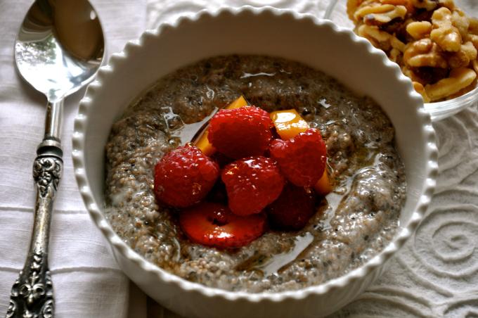 Chia Seed Plant-Powered Breakfast