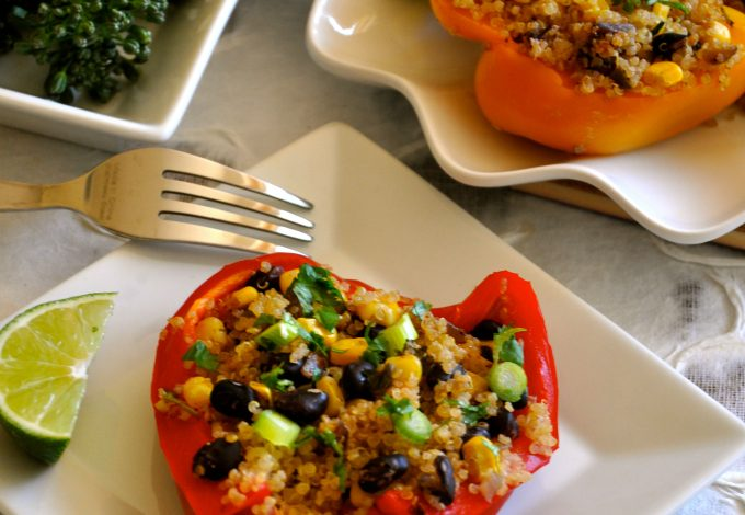 Healthy Recipe – Southwestern Stuffed Peppers