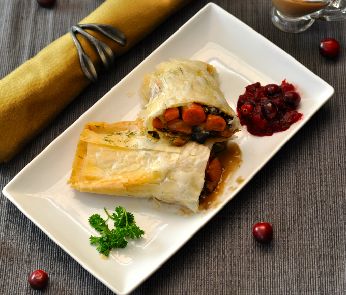 Healthy Dinner for the Holidays: Savory Vegan Turnover