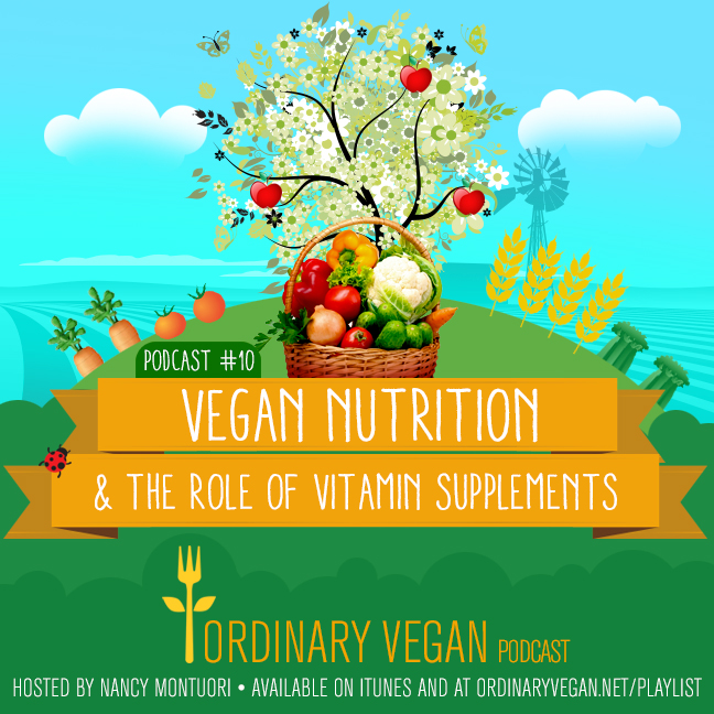 Podcast #10: Vegan Nutrition & The Role Of Vitamin Supplements