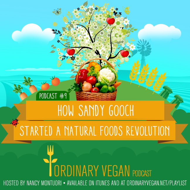 Sandy Gooch single handedly pioneered a natural foods revolution for everyday people. Read more here (#vegan) ordinaryvegan.net