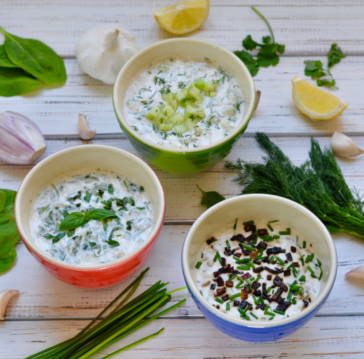 Creamy summer dips are usually laden with fat, but yogurt dip is a healthy, delicious option and works in both savory & sweet presentations. (#vegan) ordinaryvegan.net
